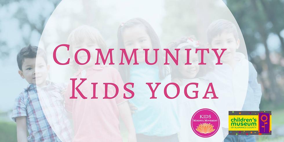 Community Kids Yoga