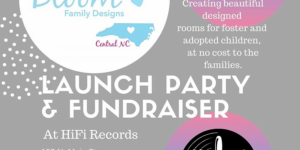 Bloom Family Designs Launch Party and Fundraiser