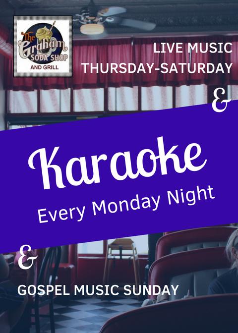 Karaoke at Soda Shop