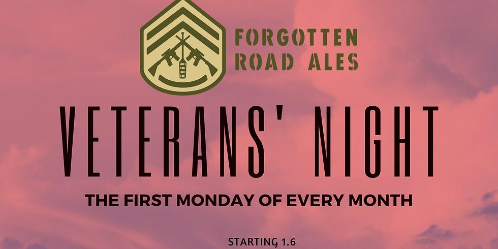 Veterans' Night at Forgotten Road Ales