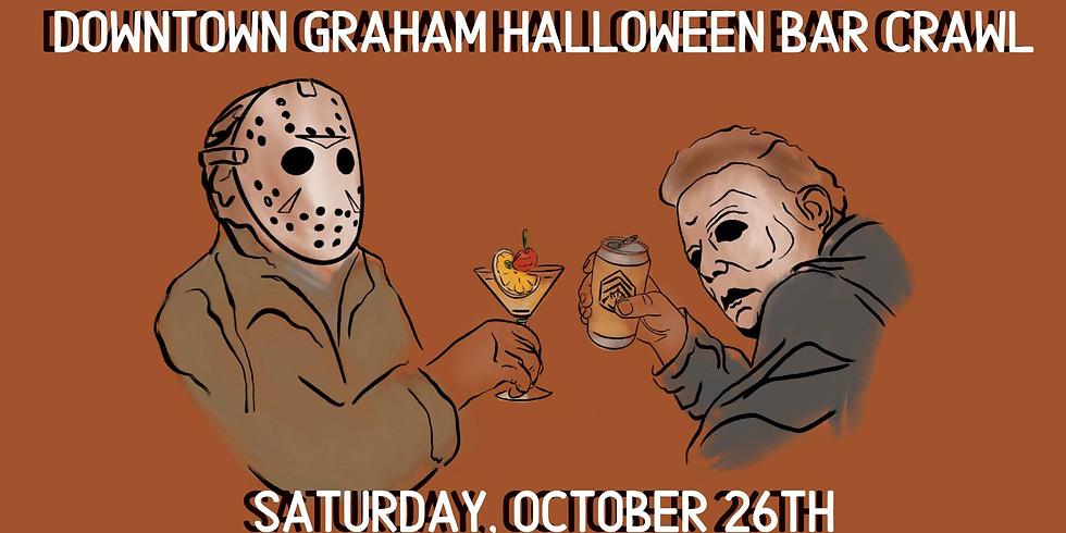 Downtown Graham Halloween Bar Crawl