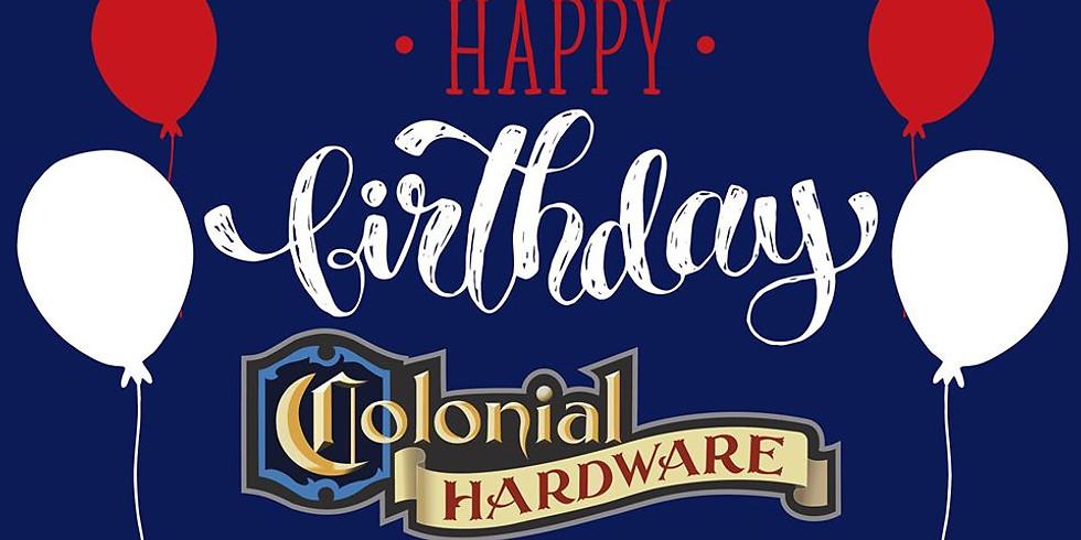Colonial Hardware 61st Birthday
