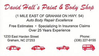 David Hall Paint & Body Shop