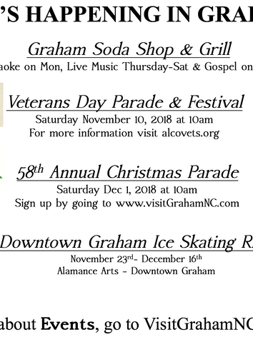 What's Happening in Graham?
