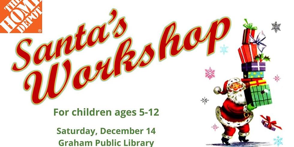 Home Depot's Santa's Workshop