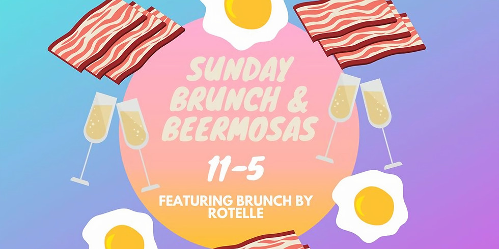 Hungover Sunday Brunch & Beermosas with Rotelle