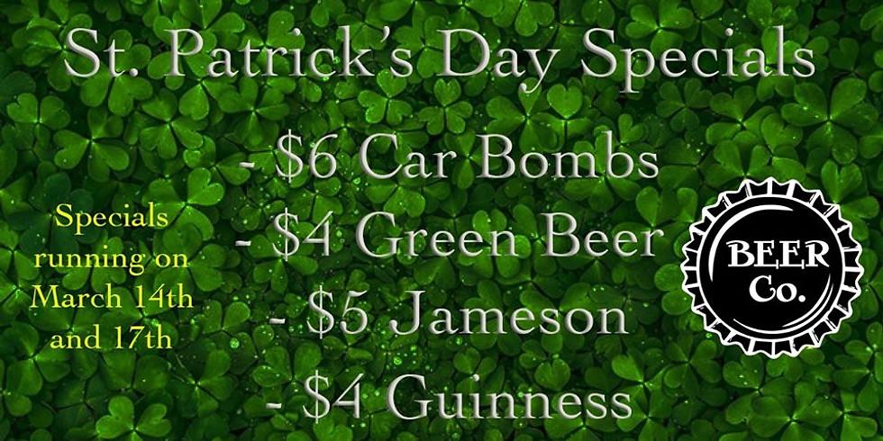 Beer Co. Graham St. Patrick's Day Celebration!