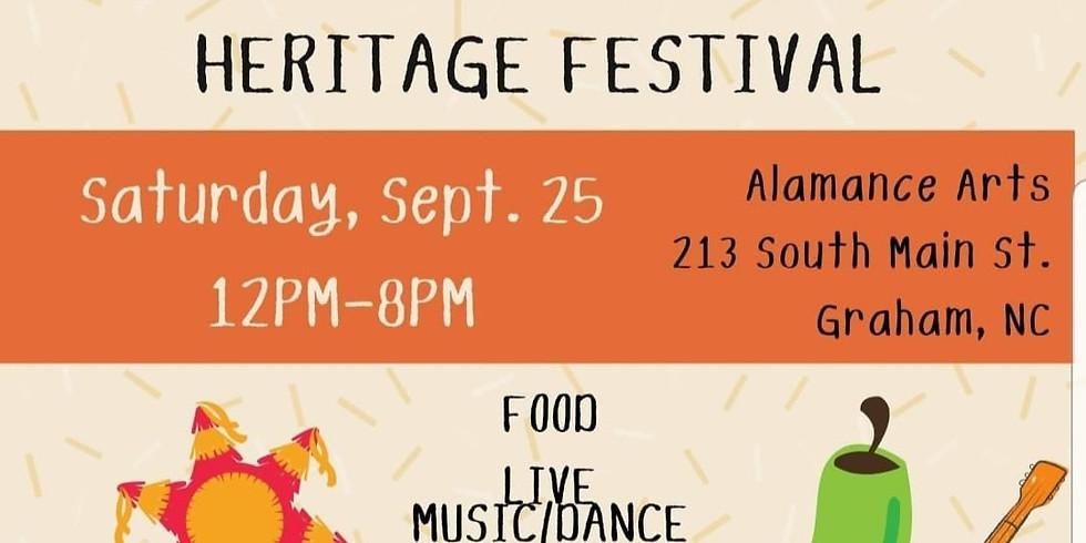 1st Annual Alamance Heritage Festival