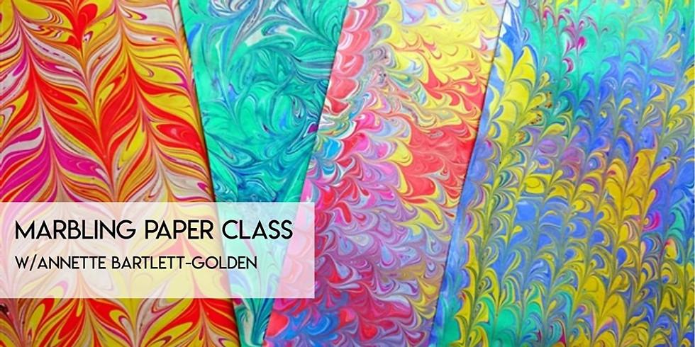 Marbling Paper Class