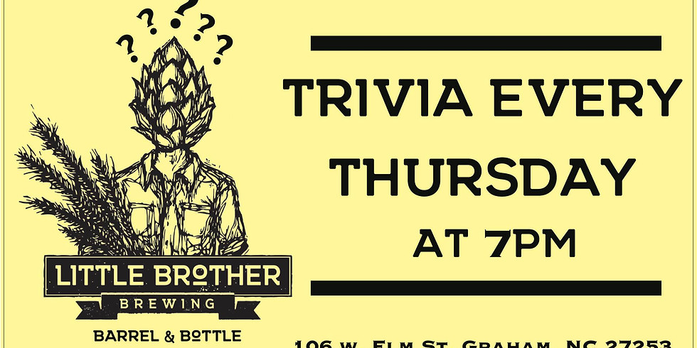 Thursday Trivia at Little Brother Barrel & Bottle