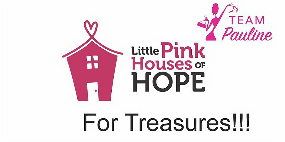 Little Pink Houses of Hope For Treasures Live Auction