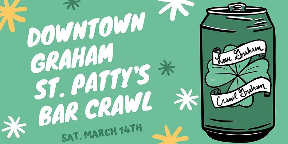 Downtown Graham St. Patty's Bar Crawl