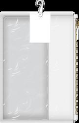 Blank Custom Pouch Template