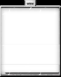 Blank Plastic Box Packaging Mock-Up