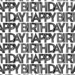 Hand Written Birthday Print