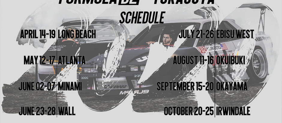 2020 FD2 Season Schedule Announcement!