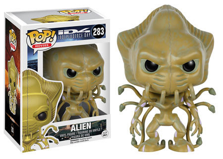 Pop! Movies ID4 Independence Day Vinyl Figure Alien #283 (Vaulted)