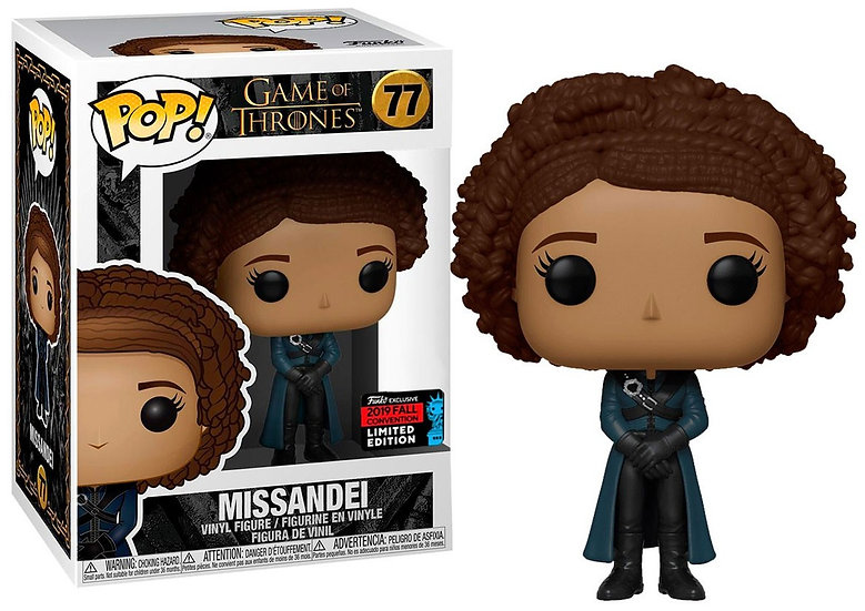 Pop! Television Game of Thrones Figure Missande #77 Fall Convention LTD Edition