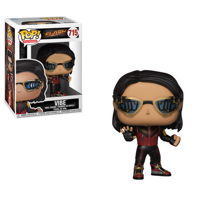 Pop! Television The Flash Vinyl Figure Vibe #715 (Vaulted)