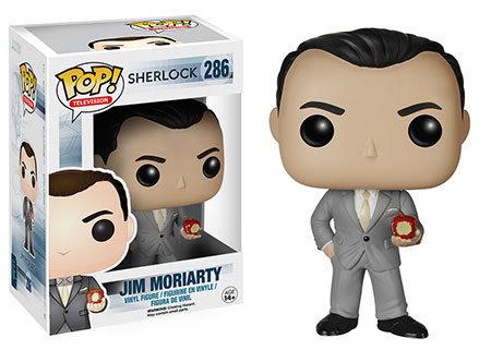 Pop! Television Sherlock Vinyl Figure Jim Moriarty #286 (Vaulted)