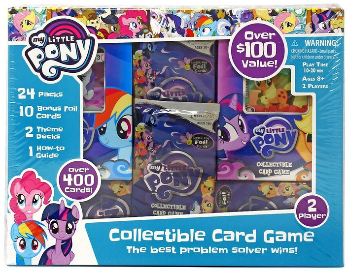 My Little Pony Collectible Card Game Super Value Box