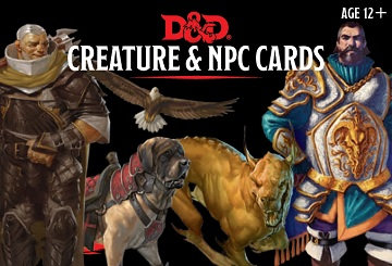 Dungeons & Dragons (5th Ed.): Creature and NPC Cards