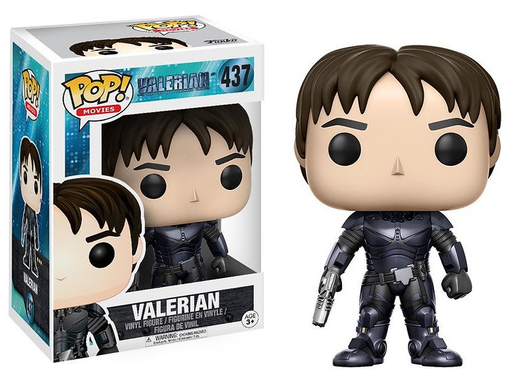 Pop! Movies Valerian & the City of a Thousand Planets Valerian #437 (Vaulted)