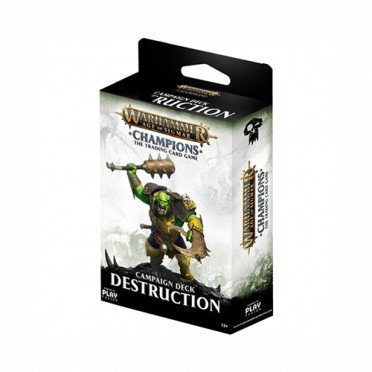 Age of Sigmar : Champions - Destruction Campaign Deck