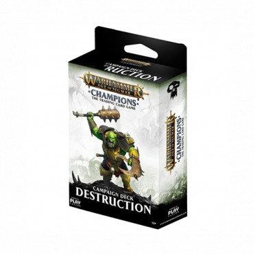 Age of Sigmar : Champions - Destruction Campaign Deck