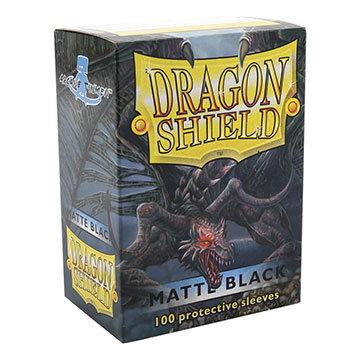Dragon Shields: Matte Card Sleeves (100): Black
