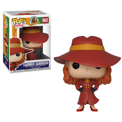 Pop! Television Where In the World is Carmen Sandiego? Vinyl Figure #662