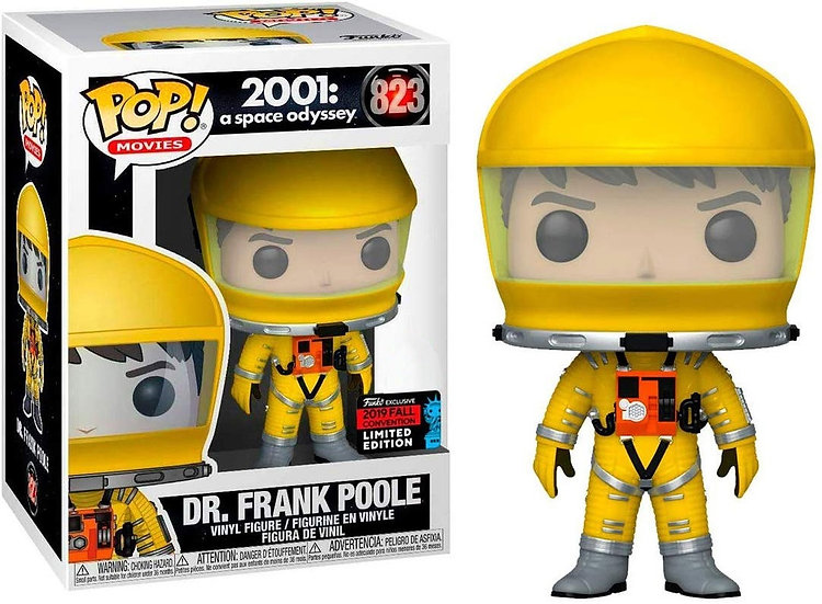 Pop! Movies 2001: A Space Odyssey Vinyl Figure Dr. Frank Poole #823