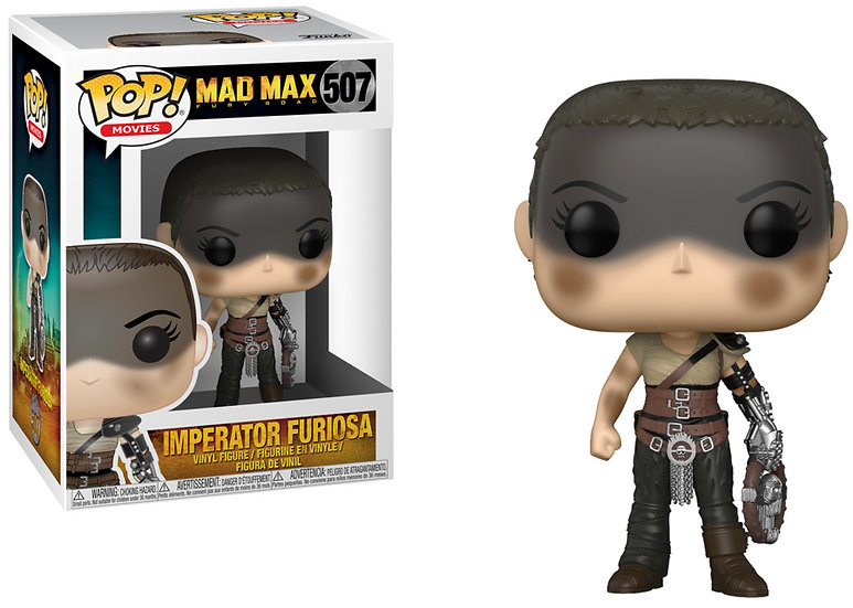 Pop! Movies Mad Max Vinyl Figure Imperator Furiosa #507 (Vaulted)