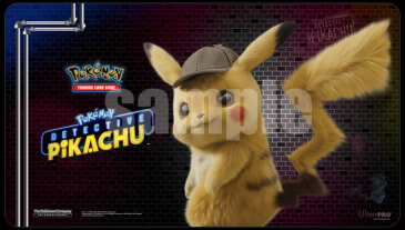 Pokémon: Detective Pikachu Playmat -Pikachu