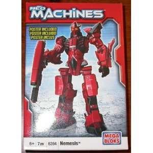 Neo Machines Nemesis Mega Bloks #6394