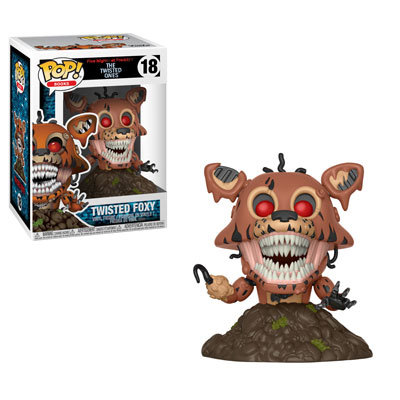 Pop! Books Five Nights at Freddy's: The Twisted Ones Vinyl Figure Twisted Foxy #