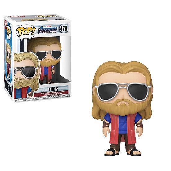 Pop! Marvel Avengers Endgame Vinyl Bobble-Head Thor (with Glasses) #479