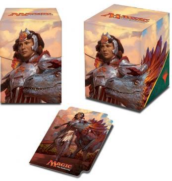 Ixalan, Huatli, Warrior Poet PRO 100+ Deck Box for Magic