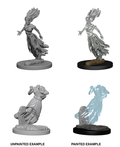 Dungeons & Dragons Nolzur's Marvelous Miniatures: Ghost & Banshee