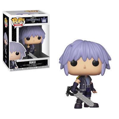 Pop! Games Kingdom Hearts 3 Vinyl Figure Riku #488