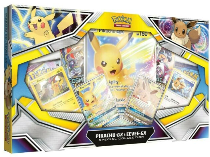Pokemon Pikachu-GX & Eevee-GX Special Collection