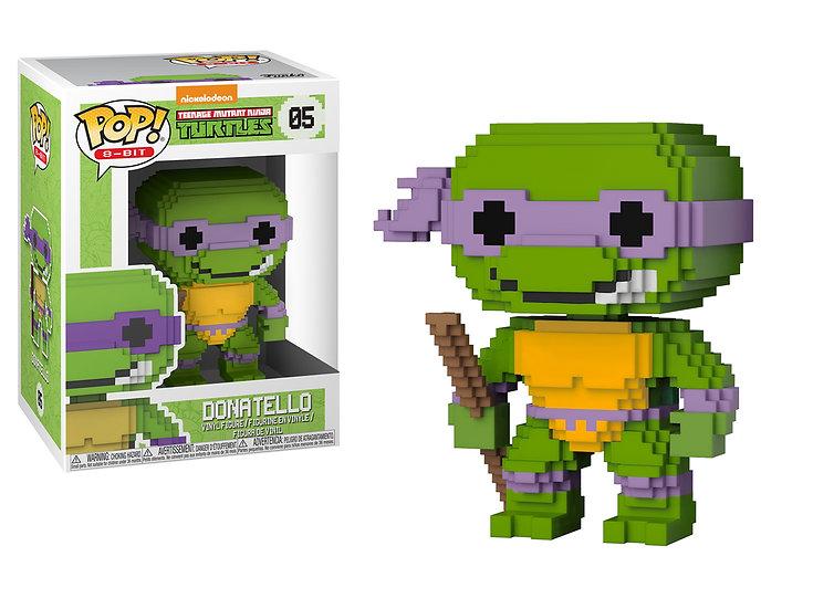 Pop! 8-Bit Teenage Mutant Ninja Turtles Vinyl Figure Donatello #05