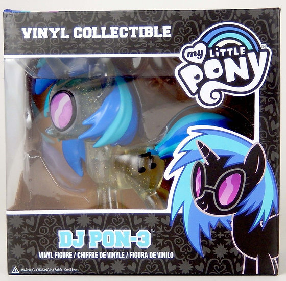 Funko My Little Pony: DJ Pon-3 Vinyl Figure Clear Variant