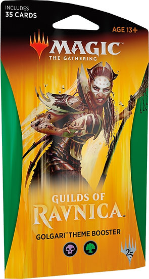 Guilds of Ravnica Theme Boosters Golgari