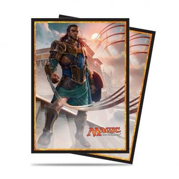Amonkhet Standard Deck Protector sleeves - Gideon for Magic 80ct