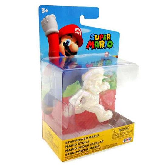 Super Mario Star Power Mario 2.5 Inch Figure