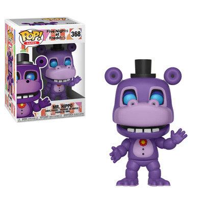 Pop! Games Five Nights at Freddy's Pizza Simulator Vinyl Figure Mr. Hippo #368