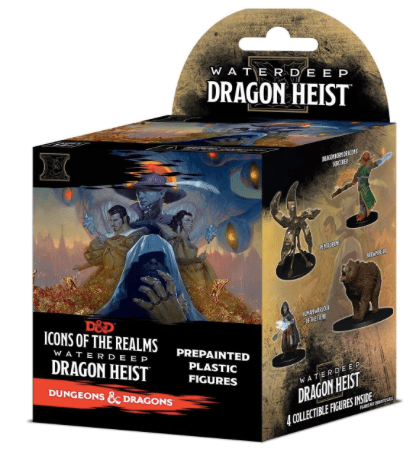 D&D Icons of the Realms: Waterdeep Dragon Heist - Booster