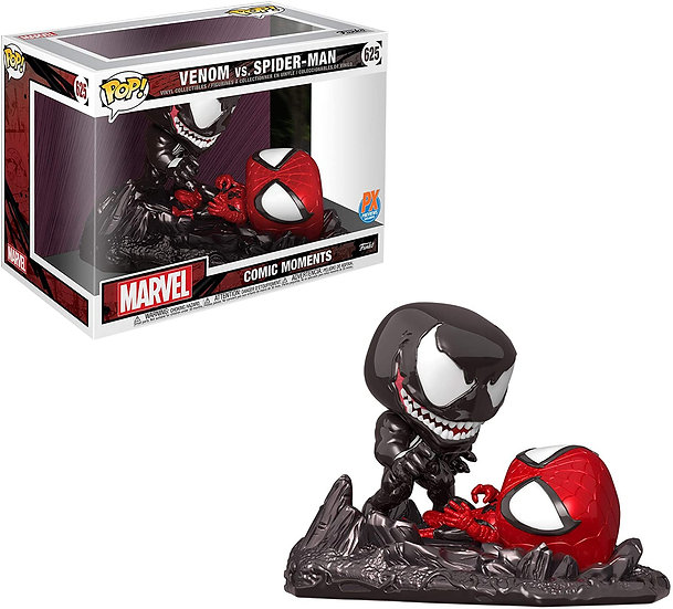 Pop! Comic Moments Marvel Avengers: Venom vs. Spider-Man #625 PX Exclusive
