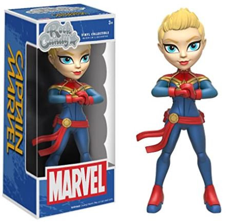 Rock Candy Marvel - Captain Marvel
